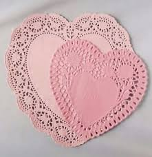 heart shaped doilies pink heart shaped paper doilies doily assorted size s