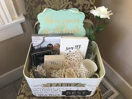 engagement gift baskets diy engagement gift basket items from bed bath and beyond hobby