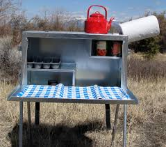 large camp kitchen food box riley stoves food box stove and