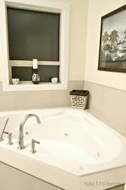 simple and budget friendly tile around a soaker tub benjamin