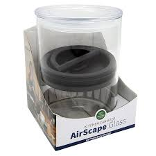 amazon com airtight food container airscape glass 64 fl oz