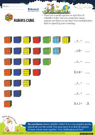 rubiks cube math worksheet for grade 1 free u0026 printable worksheets