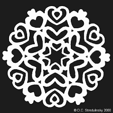 snowflake template pattern no 1
