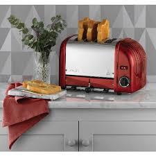 Dualit Orange Toaster Dualit Vario 4 Slice Toaster Apple Candy Red 40544