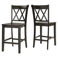 Bed Bath And Beyond Bar Stool Buy Black X Back Dining Chairs From Bed Bath U0026 Beyond