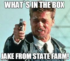 Whats In The Box Meme - brad pitt whats in the box memes imgflip