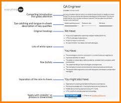 5 job profile examples coaching resume