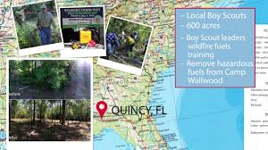 Fl Wildfire Map by Quincy Florida A Wildfire Community Preparedness Day Success