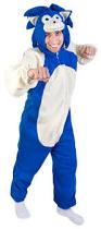 Sonic Hedgehog Halloween Costume Video Game Costumes Halloween Costumes Brandsonsale