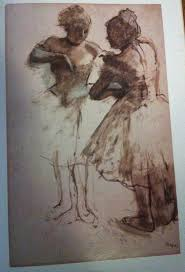 drawing at duke rachael clark edgar degas