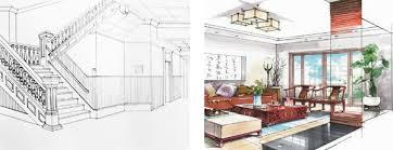 interior design sketch interior design drawing techniques onlinedesignteacher