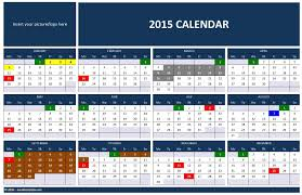 Excel Monthly Planner Template 2015 Calendar Templates Microsoft And Open Office Templates