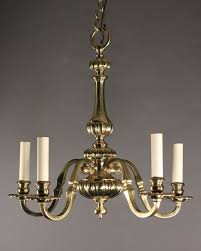 Aged Brass Chandelier Brass Chandelier With 5 Banches