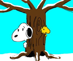 snoopy tree snoopy and woodstock hide a tree drawing by rocket scion