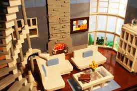 lego ideas modern living room