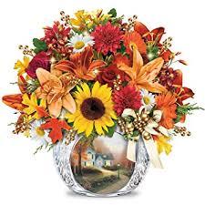 Lighted Centerpiece Ideas by Amazon Com Always In Bloom Lighted Centerpiece Thomas Kinkade