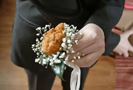 corsage for prom your prom date a kfc fried chicken corsage