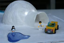 two sons project building an igloo