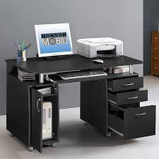 Desk With Computer Storage Techni Mobili Storage Computer Desk Espresso Walmart