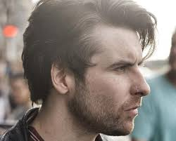 mens hipster hairstyle also wavy hairstyles for men messy cool