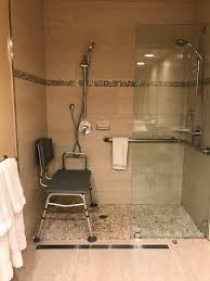 Deluxe Wheelchair Accessible Ada Shower Deluxe Double Room With 2 Xl Double Beds The Dylan At Sfo