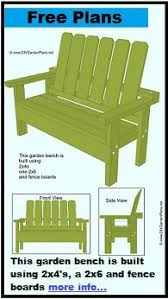 Free Wooden Garden Bench Plans by Diy Simple Garden Bench Myoutdoorplans Free Woodworking Plans