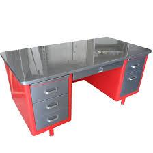 Stainless Desk Steelcase Vintage Steel Tanker Desk Vintage Desk Stainless