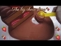 chocolate slime tutorial indonesia prank the big chocolate slime