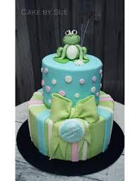 frog themed baby shower cakes custom cake design birthday cake