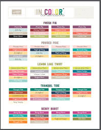 2017 color combinations in color 2017 19 color combination br free download of chart color