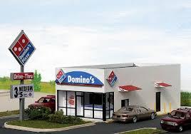 domino pizza jombang domino s pizza restaurant model in ho scale