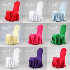 bulk chair covers aliexpress buy new pattern skirting chair cover with pleated