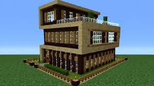 Modern Houses Minecraft Minecraft 360 Modern House Tutorial House Number 4 Video