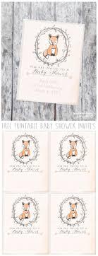 printable baby shower invitations 100 stunning printable baby shower invitations momooze