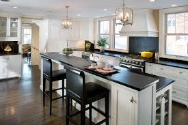 exquisite two color kitchen cabinets kitchen two color kitchen full size of kitchen captivating white kitchen island exciting regtangle black marble countertop minimalist black