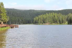 Wyoming Lakes images Bighorn national forest sibley lake campground jpg