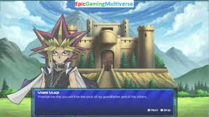yami yugi vs the creator of the duel monsters game in a yu gi oh