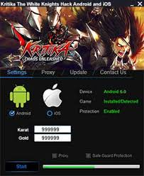 download game kritika mod apk data kritika the white knights cheats apk gold and karat top games apps