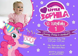 my little pony birthday invitations ideas u2013 bagvania free