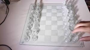 glass chess board youtube