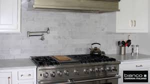carrara marble subway tile kitchen backsplash carrara marble white bianco 3x6 marble subway tile