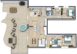Rossmoor Floor Plans by Alluring 7 Br Vacation Rental On The Ocean In Encinitas E4801 2