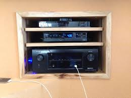 cave creek home theater system and patio speaker installation