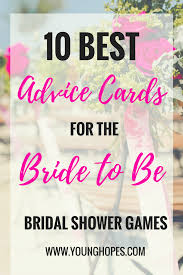 Advice To The Bride Cards 100 Bride Advice Cards Photo Wedding Shower Advice Cards