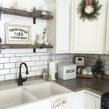 farmhouse kitchen decorating ideas kitchen sink decor farm ideas white farmhouse style design with