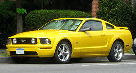 2009 Black Mustang Gt Ford Mustang Fifth Generation Wikipedia