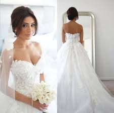 sweetheart wedding dresses discount a line sweetheart wedding dresses with 3d floral