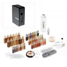 best professional airbrush makeup system airbrush makeup review temptu pro the big review airbrush