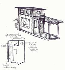 Tiny House Cartoon Relaxshacks Com Fourteen Fun And Ultra Tiny Cabin Small House