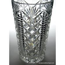 Antique Glass Vases Value Crystal Glass Vase Ebay Antique Lead Cut Vases Vintage 28199